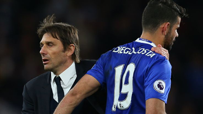 Ex-Chelsea forward Costa: Conte would never last as Real Madrid boss - Bóng Đá