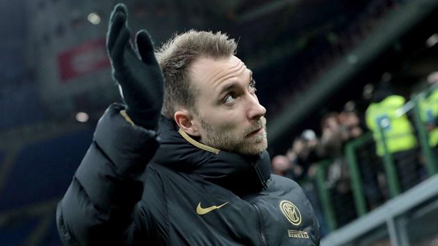 Eriksen determined to become Inter regular as he dismisses possible departure - Bóng Đá