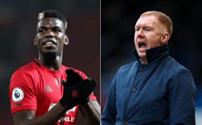 Paul Scholes fires warning to Paul Pogba after Bruno Fernandes arrival - Bóng Đá