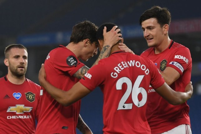 Gary Neville compares Manchester United star Mason Greenwood to Robin van Persie after Brighton goal - Bóng Đá