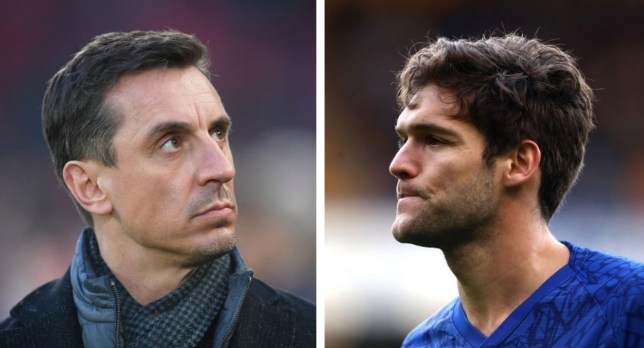 Gary Neville blasts Marcos Alonso for 'costing Chelsea the game' in West Ham defeat - Bóng Đá
