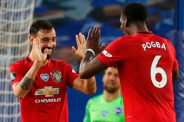 Manchester United stars Bruno Fernandes and Paul Pogba injured in training ground clash - Bóng Đá