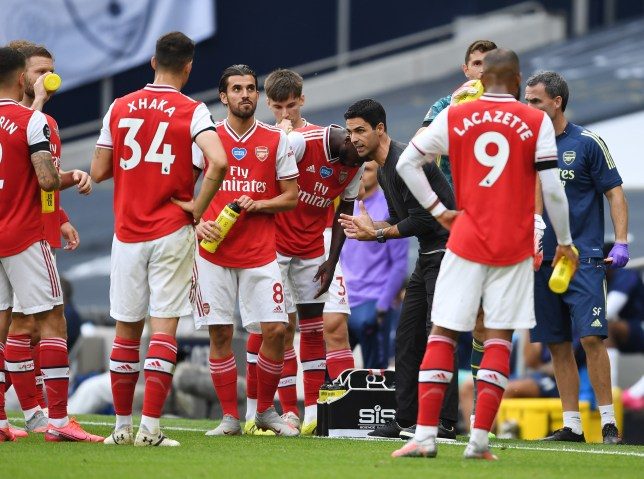 Mikel Arteta reveals how Arsenal squad reacted to Tottenham defeat ahead of Liverpool clash - Bóng Đá