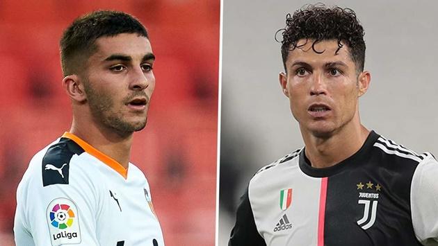 Ferran Torres wants to follow in Ronaldo's footsteps ahead of Man City move - Bóng Đá