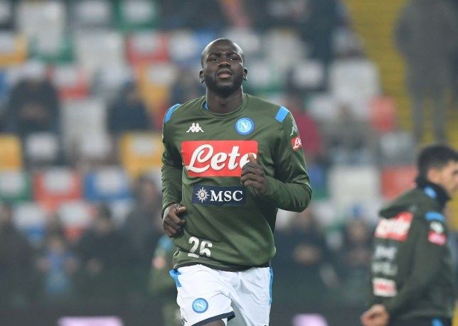 Napoli chief officially sets price for Man Utd and Liverpool transfer target Kalidou Koulibaly - Bóng Đá