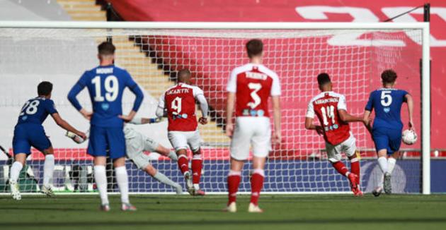 TRỰC TIẾP Arsenal 1-1 Chelsea: Aubameyang!!!! (H1) - Bóng Đá