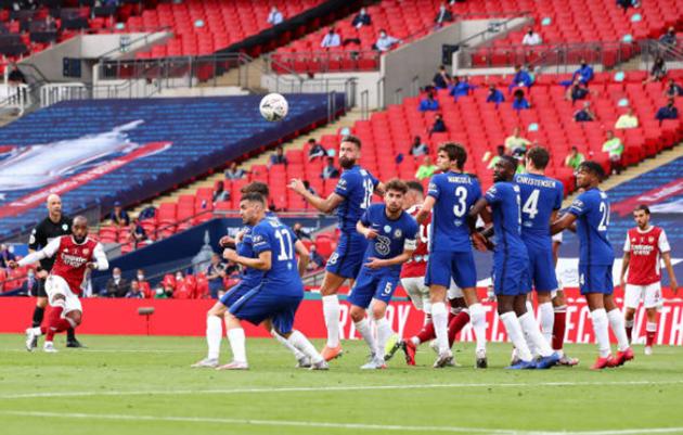TRỰC TIẾP Arsenal 1-1 Chelsea: Azpilicueta rời sân trong nước mắt  (H1) - Bóng Đá