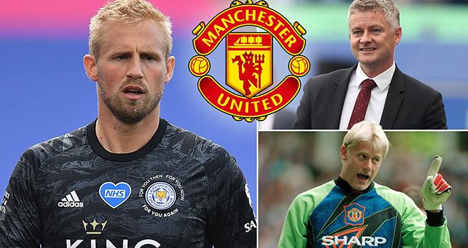 Man United 'plot sensational move to bring Kasper Schmeichel to Old Trafford' - Bóng Đá