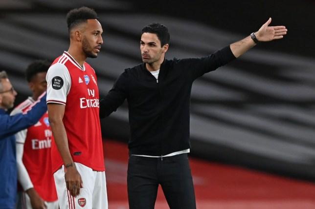 Mikel Arteta confident on Pierre-Emerick Aubameyang's Arsenal's future after FA Cup final win - Bóng Đá