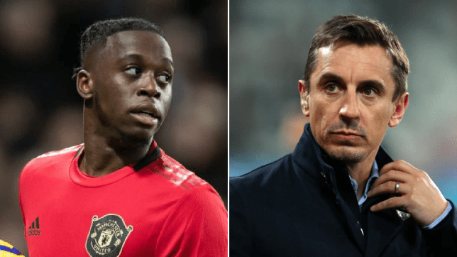 Gary Neville responds to criticism of Manchester United defender Aaron Wan-Bissaka with transfer suggestion - Bóng Đá