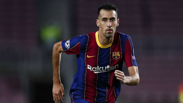 Barcelona concern as Busquets ruled out of Spain game with knee injury - Bóng Đá