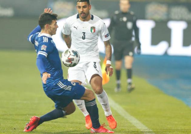 bài ảnh sau trận Ý vs Bosnia  - Bóng Đá
