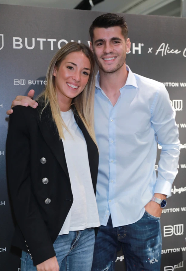 Morata's stunning wife Alice reveals striker asked her to marry him just eight months after she ignored his messages - Bóng Đá