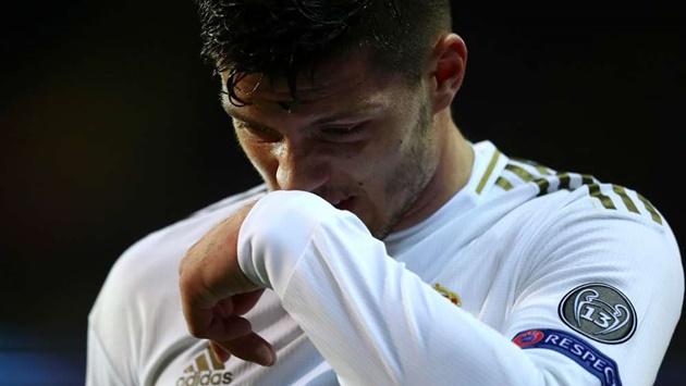 Real Madrid forward Jovic tests positive for Covid-19 - Bóng Đá