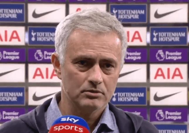 Jose Mourinho rates Tottenham's title chances after Manchester City win - Bóng Đá