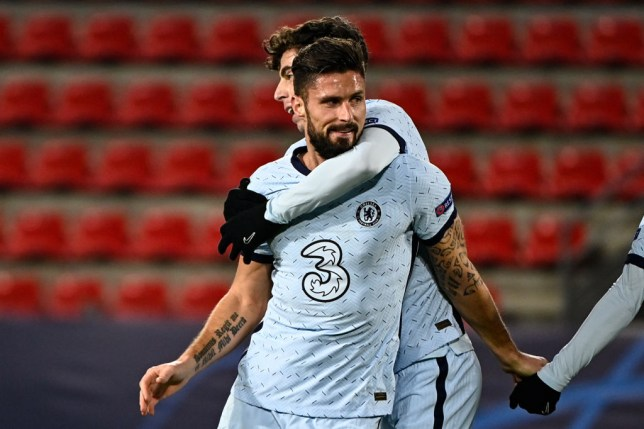 Frank Lampard makes promise to Olivier Giroud ahead of January transfer window - Bóng Đá