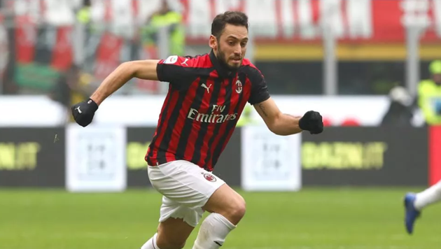 """Manchester United transfer news: Hakan Calhanoglu """"90 per cent likely"""" to leave AC Milan for Old Trafford next summer - Bóng Đá"""