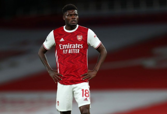 Thomas Partey to miss 'next few Arsenal games' as injury is worse than first feared - Bóng Đá