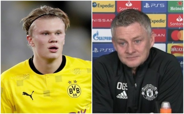 Ole Gunnar Solskjaer sends message to Erling Haaland over Champions League record - Bóng Đá