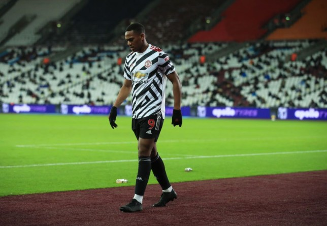 Manchester United suffer Anthony Martial injury blow against West Ham - Bóng Đá