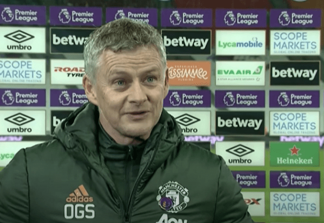 Ole Gunnar Solskjaer reveals what he said at half-time to inspire Man Utd win over West Ham - Bóng Đá