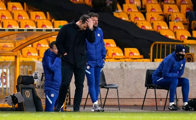 Frank Lampard hits out at Chelsea players for disappointing performance in Wolves defeat - Bóng Đá