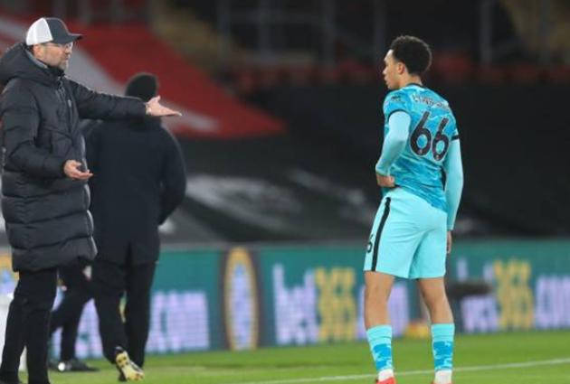 CĐV Liverpool chỉ trích Trent Alexander-Arnold sau trận Southampton - Bóng Đá