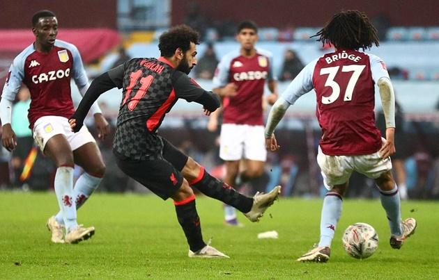 Đường chuyền thiên tài của Thiago dành cho Salah - Bóng Đá