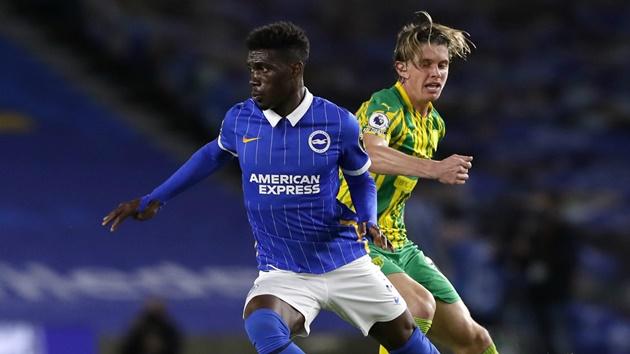 Yves Bissouma: Kẻ thay thế Matic tại Man United - Bóng Đá