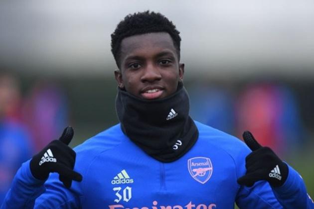 West Ham target Arsenal star Eddie Nketiah to replace Sebastien Haller - Bóng Đá