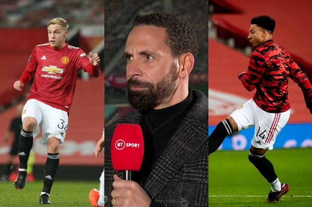 Manchester United great Rio Ferdinand sends messages to Jesse Lingard and Donny van de Beek - Bóng Đá