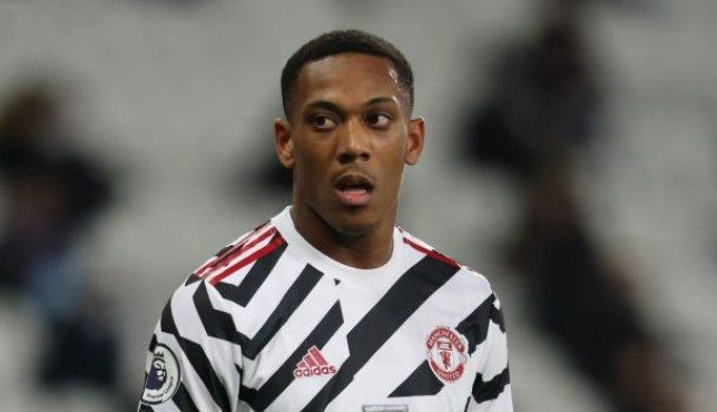 Manchester United ease fears over Anthony Martial injury before Liverpool clash - Bóng Đá