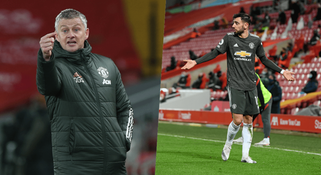 Ole Gunnar Solskjaer explains decision which led to Bruno Fernandes outburst against Man United - Bóng Đá