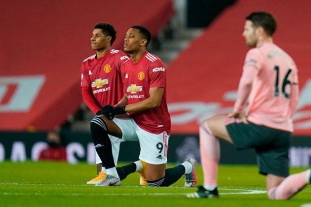 But Ferdinand felt Anthony Martial and Marcus Rashford were totally 'invisible' and failed to have any impact on the game. - Bóng Đá