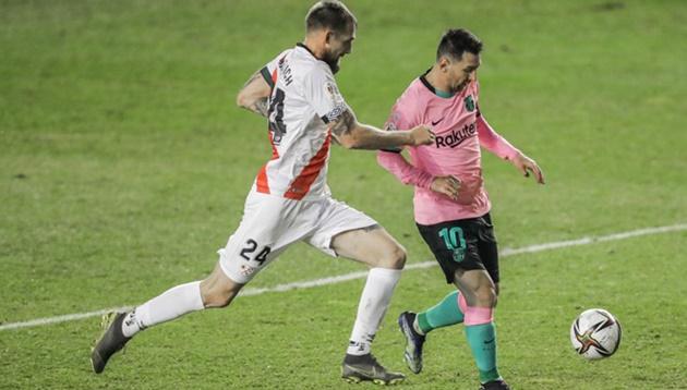 Messi makes Copa del Rey history for Barcelona - Bóng Đá