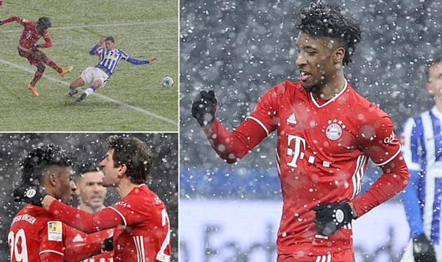 Hertha Berlin 0-1 Bayern Munich - Bóng Đá