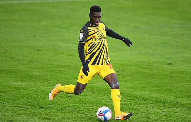 Ismaila Sarr's agent reveals Watford winger agreed personal terms with Liverpool last summer but the champions balked at the £35m asking price - Bóng Đá