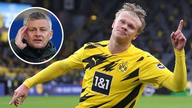 Solskjaer admits Man Utd are following Borussia Dortmund star Haaland - Bóng Đá