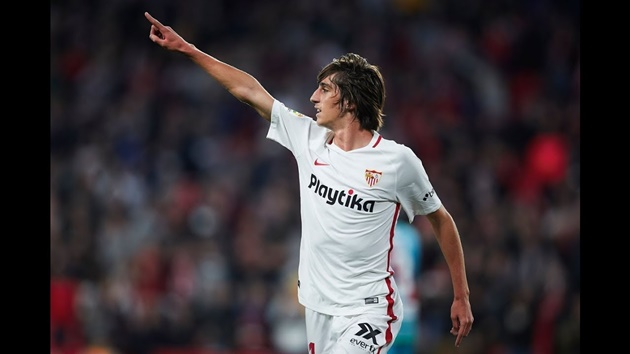 Eibar's on-loan Sevilla winger Bryan Gil is reportedly a target for Arsenal as well as Barcelona. - Bóng Đá