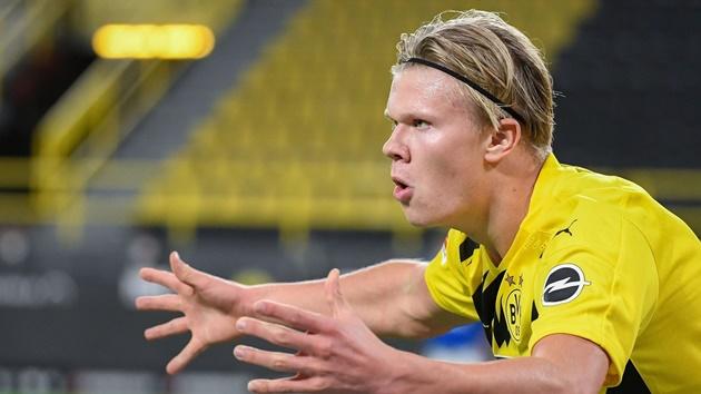 "Erling Haaland: Borussia Dortmund's ""goal machine"" learning from Zlatan Ibrahimovic - Bóng Đá"