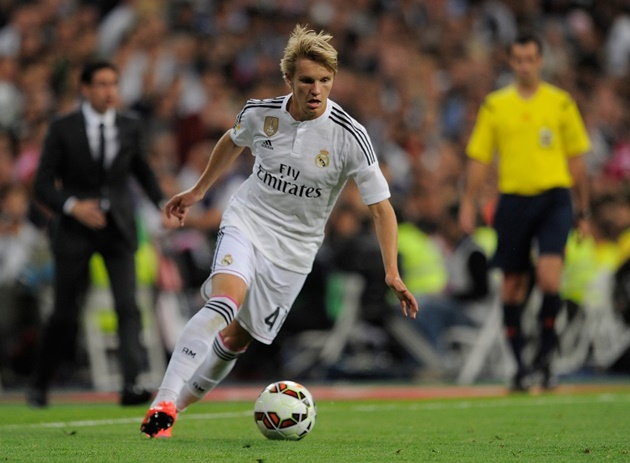 REAL MADRID WANT €80 MILLION FROM ARSENAL FOR MARTIN ODEGAARD - Bóng Đá