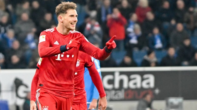 "Hansi Flick touts Leon Goretzka as his ""player of the day"" in Bayern Munich's 5-1 win over FC Köln - Bóng Đá"