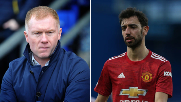 Paul Scholes names two 'problem' players for Manchester United in big games and digs out Bruno Fernandes - Bóng Đá