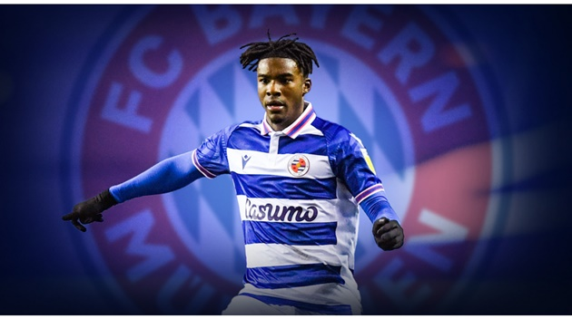 Bayern Munich has signed Reading FC's Omar Richards to a four-year deal - Bóng Đá