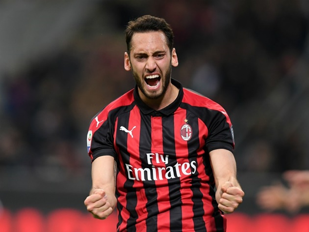 Man United less likely to sign star this summer after positive contract talks (Calhanoglu) - Bóng Đá