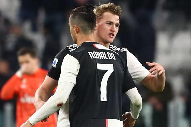 Cristiano Ronaldo decision leaves Matthijs de Ligt with uncertain Juventus future - Bóng Đá