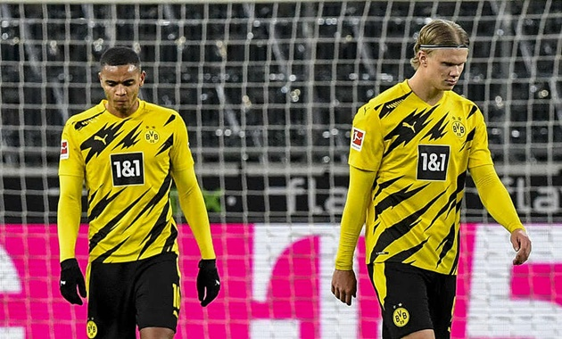 Fans joke Jadon Sancho and Erling Haaland won't leave Dortmund after they hire 'world's sexiest athlete' to train them - Bóng Đá