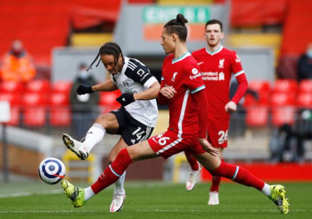 TRỰC TIẾP Liverpool 0-0 Fulham: Hàng thủ báo động của The Kop (H1) - Bóng Đá