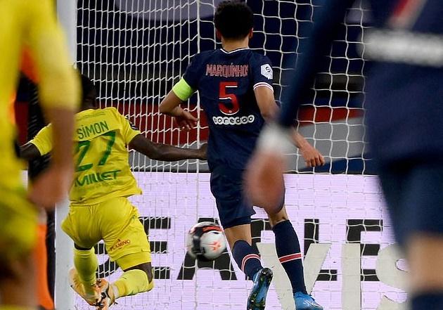 PSG thua sốc tại Ligue 1 - Bóng Đá