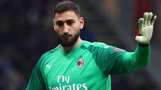 Atletico Madrid are considering a move for AC Milan goalkeeper Gianluigi Donnarumma - Bóng Đá
